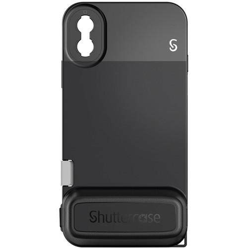Shuttercase Battery Case V2 for iPhone X & XS (Black Lens Mount)