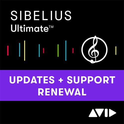 Sibelius Music Notation Software 8.5 (Annual Renewal)