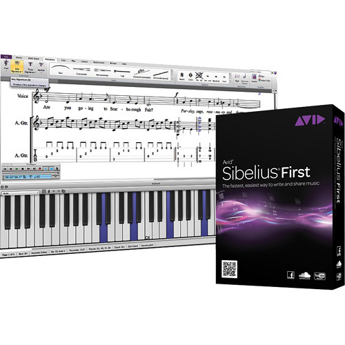 Sibelius First 8 - Notation Software (Perpetual License)