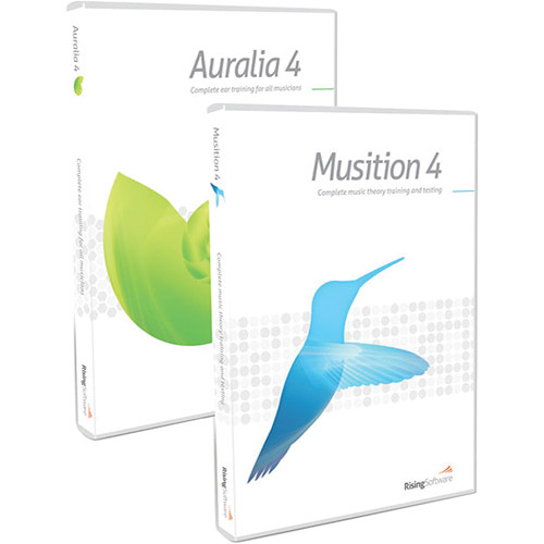 Rising Software Auralia 4/Musition 4 Bundle - Training Software (5-Seat Lab Pack Download)