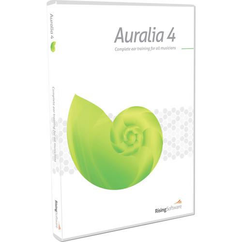 Rising Software Auralia 4 - Training Software (Multi-User per Seat Upgrade, 10 Seat Minimum)