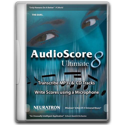 Sibelius AudioScore Ultimate 8
