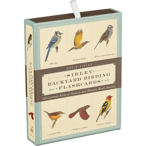Sibley Guides Backyard Birding Flashcards:100 Common Birds of North America