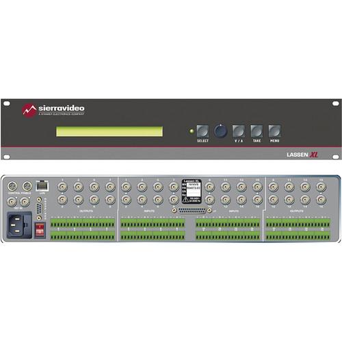 Sierra Video 1616HD-XL Lassen XL 16 x 16 HD-SDI Matrix Switcher