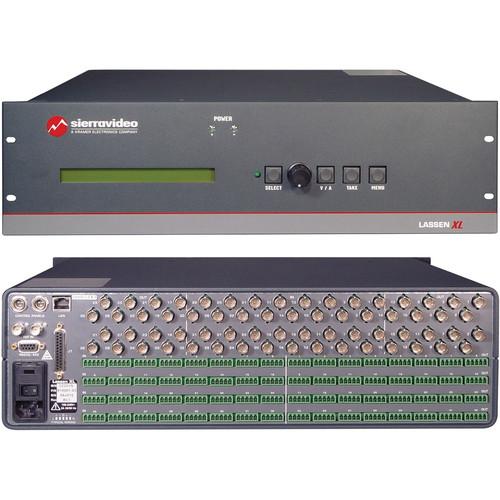 Sierra Video Lassen XL 16x16 Balanced Stereo Audio Routing Switcher
