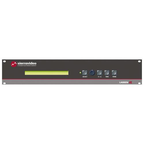 Sierra Video 1616VS-XL Lassen XL 16 x 16 Composite Video and Balanced Audio Matrix Switcher