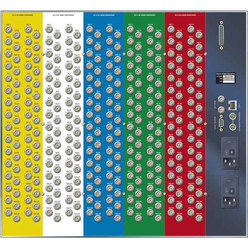 Sierra Video Pro XL Series 16x32 YUV Video Matrix Switcher with Stereo Audio & Redundant Power Supply (9RU)