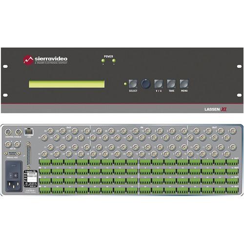 Sierra Video Lassen XL 32x32 Composite Video Routing Switcher