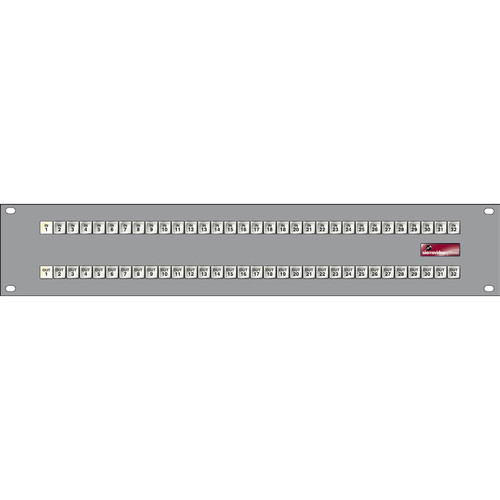 Sierra Video 32x32 2RU XY Control Panel for Routing Switchers