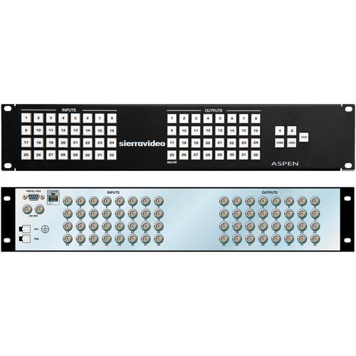 Sierra Video Aspen 3232HD-3G Video Router