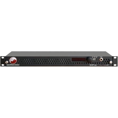 Sierra Video SMP-xx 12x2 3G HD-SDI MultiViewer with Router (1RU)