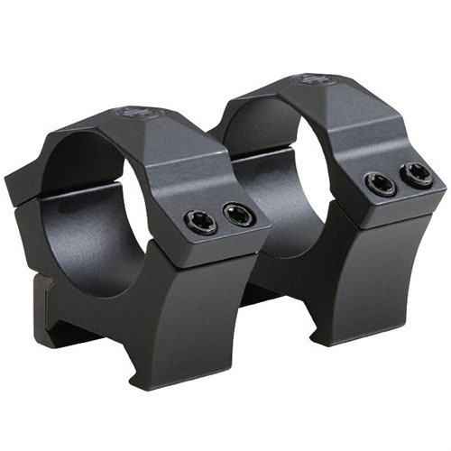 SIG SAUER Alpha Hunting Mount Rings (30mm, Steel, Low, Black)