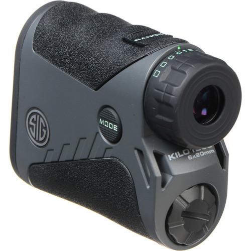 SIG SAUER 6x20 KILO1250 Laser Rangefinder (Graphite)