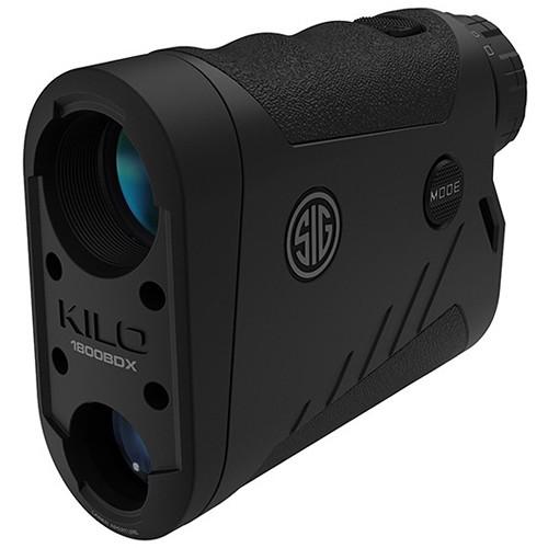 SIG SAUER 6x22 KILO1800BDX Laser Rangefinder (Black, Class 3R)