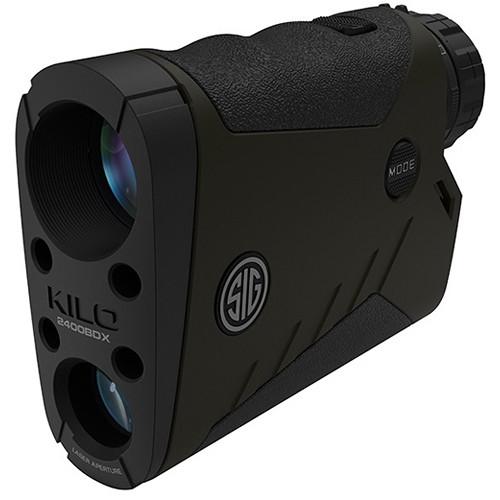 SIG SAUER 7x25 KILO2400BDX Laser Rangefinder (OD Green, Class 3R)