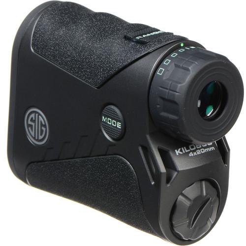 SIG SAUER 4x20 KILO850 Laser Rangefinder (Black)