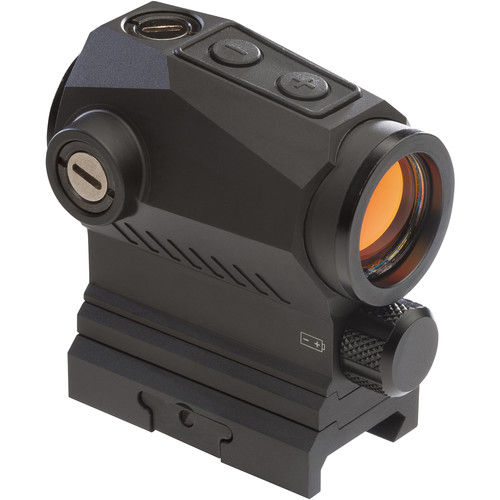 SIG SAUER Romeo5 XDR Compact Red Dot Sight (2 MOA Dot / 65 MOA Circle Illuminated Reticle, Graphite)