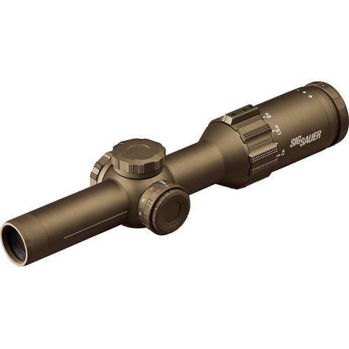SIG SAUER 1-6x24 TANGO6T Riflescope (5.56/7.62 Horseshoe, FDE)
