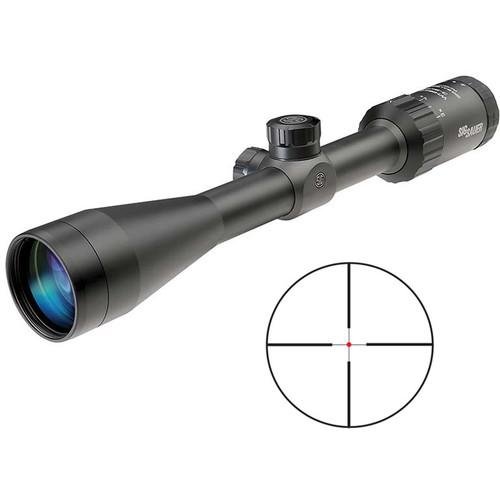 SIG SAUER 3-9x40 WHISKEY3 Riflescope (HellFire QuadPlex Reticle, Matte Black)