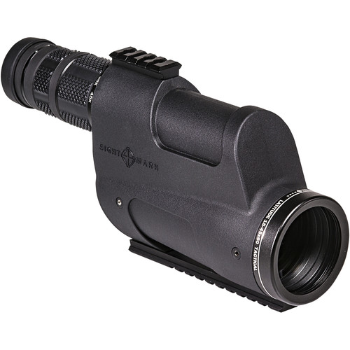 Sightmark Latitude 15-45x60 Tactical Spotting Scope (Straight Viewing, Mil-Rad Ranging Crosshair Reticle)