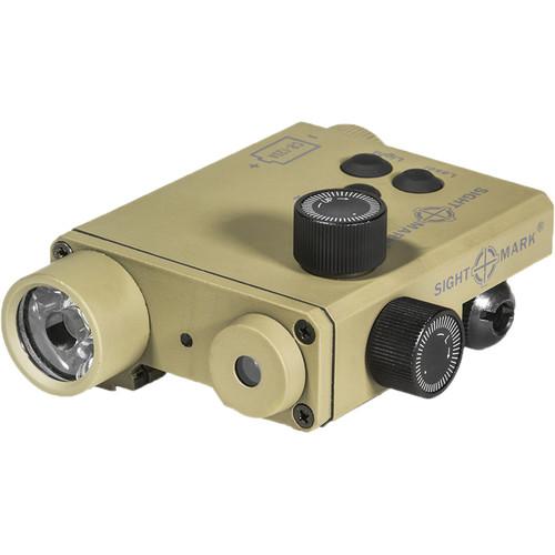 Sightmark LoPro Green Aiming Laser/White LED Flashlight Combo (Dark Earth)