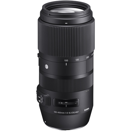 Sigma 100-400mm f/5-6.3 DG OS HSM Contemporary Lens for Canon EF