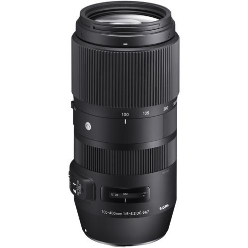 Sigma 100-400mm Contemporary Lens for Canon EF Bundle
