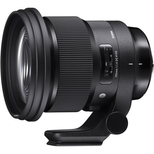 Sigma 105mm f/1.4 DG HSM Art Lens for Sigma SA