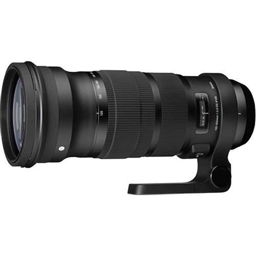 Sigma 120-300mm f/2.8 DG OS HSM Lens with 2x Teleconverter Kit for Sigma SA