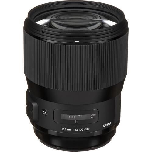Sigma 135mm f/1.8 DG HSM Art Lens with MC-11 Mount Converter/Lens Adapter Kit for Sony E