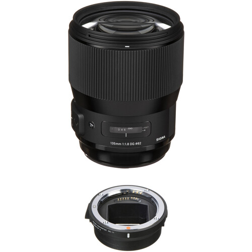 Sigma 135mm f/1.8 DG HSM Art Lens with MC-11 Mount Converter/Lens Adapter Kit for Sony E