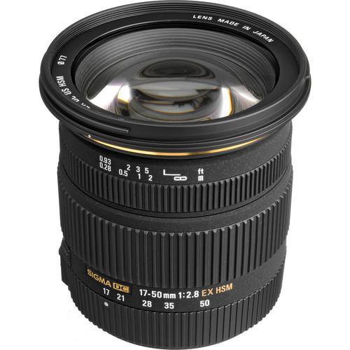 Sigma 17-50mm f/2.8 EX DC OS HSM Lens for Sigma SA