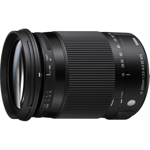 Sigma 18-300mm f/3.5-6.3 DC MACRO OS HSM Contemporary Lens for Sigma SA