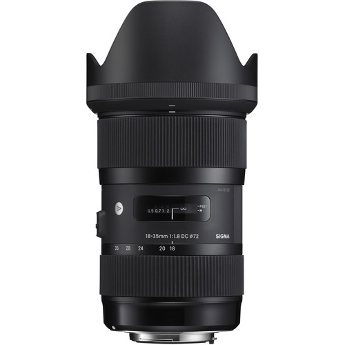 Sigma 18-35mm f/1.8 DC HSM Art Lens for Nikon F