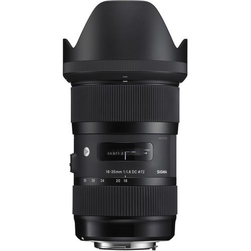 Sigma 18-35mm f/1.8 Art & 50-100mm f/1.8 Art Lenses for Canon EF with Sony E Mount Converter/Lens Adapter Kit