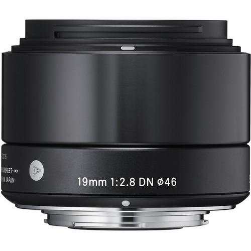 Sigma 19mm f/2.8 DN Art Lens for Sony E (Black)