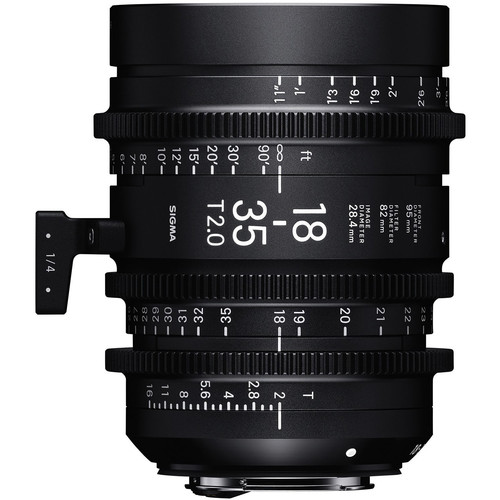 Sigma 18-35mm T2 Cine High-Speed Zoom Lens (Sony E)
