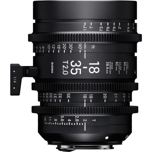 Sigma 18-35mm T2 Fully Luminous High-Speed Zoom Lens (Sony E)