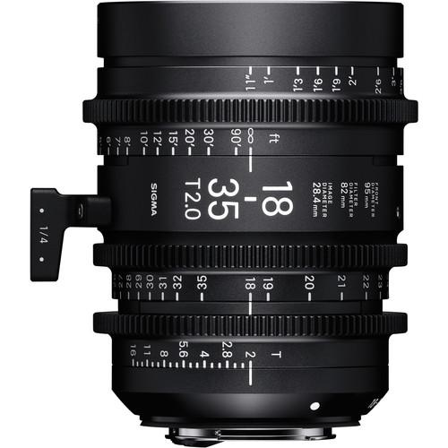 Sigma 18-35mm T2 Fully Luminous High-Speed Zoom Lens (Sony E)
