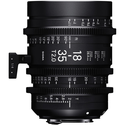 Sigma 18-35mm T2 F/VE (Metric)