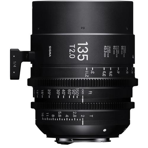 Sigma 135mm T2 FF High-Speed Prime (EF, Feet)