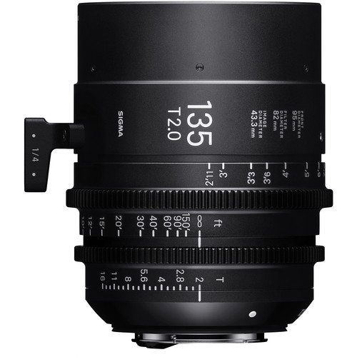 Sigma 135mm T2.0 FF High-Speed Prime (PL Mount)