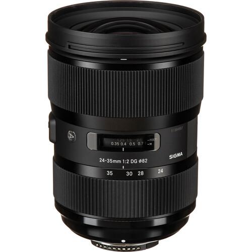Sigma 24-35mm f/2 DG HSM Art Lens for Nikon F
