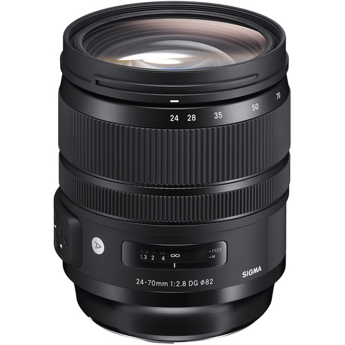 Sigma 24-70mm f/2.8 DG OS HSM Art Lens for Canon EF and MC-11 Mount Converter/Lens Adapter for Sony E Kit