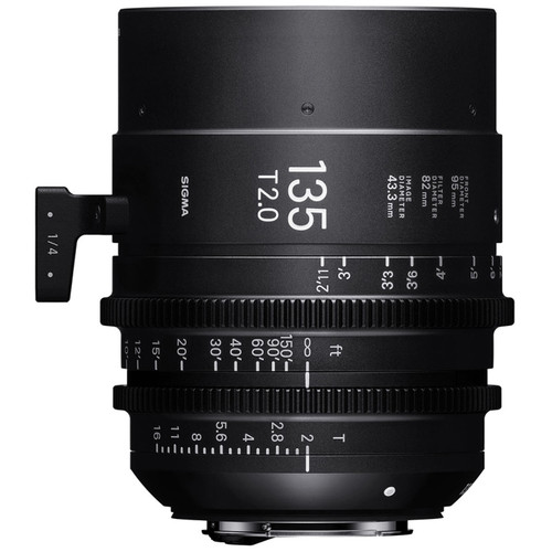 Sigma 135mm T2 Fully Luminous FF High Speed Prime Lens (ARRI PL Mount)
