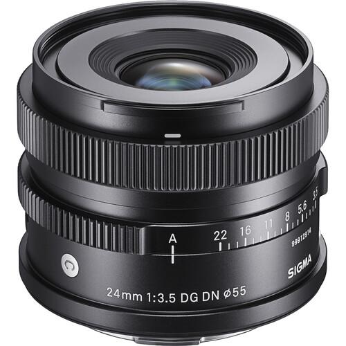 Sigma 24mm f/3.5 DG DN Contemporary Lens for Sony E