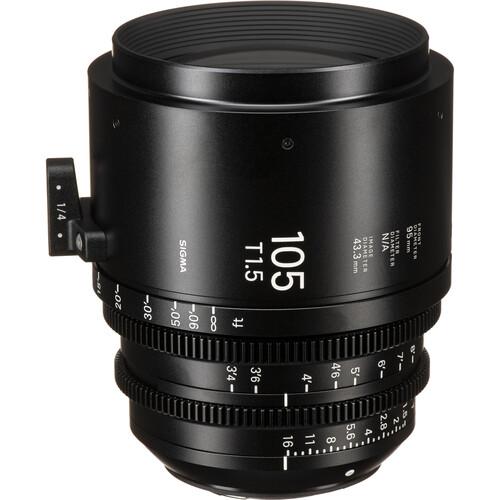 Sigma 105mm T1.5 FF EF Mount High-Speed Prime Lens (Feet)