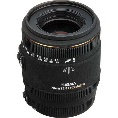 Sigma 70mm f/2.8 EX DG Macro AF Lens for Canon EOS