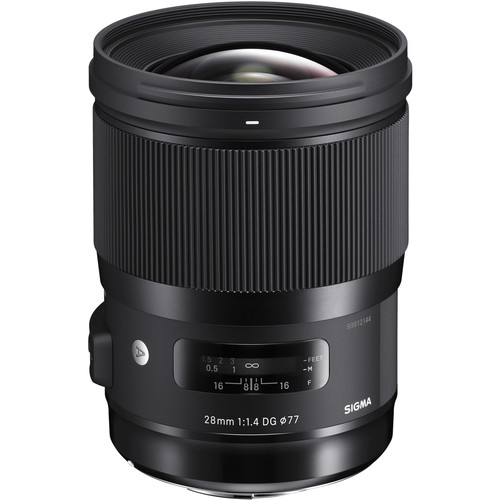 Sigma 28mm f/1.4 DG HSM Art Lens for Sigma SA