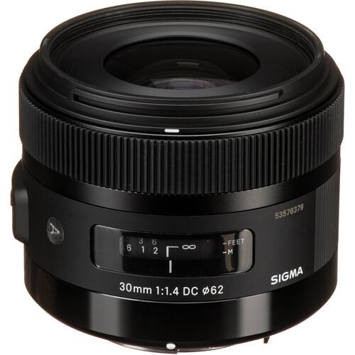 Sigma 30mm f/1.4 DC HSM Art Lens for Pentax K